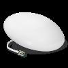 Antena interior domo. 3.5/7dbi. 50 ohm. Ultra Slim N hembra